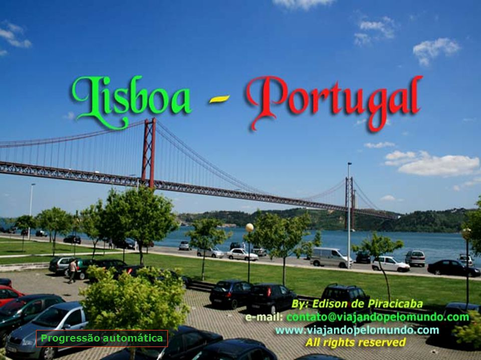 Ponte 25 de Abril, liga Lisboa até o município de Almada, foi inaugurada em 06.08.1966.