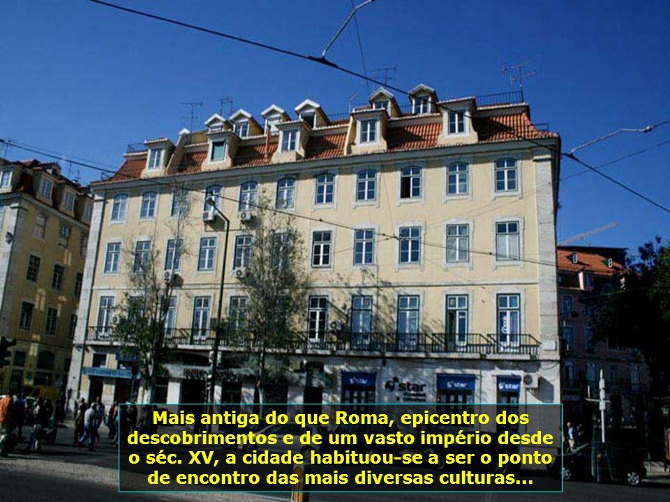Lisboa, cidade de muitas igrejas, onde 84% da população é católica.