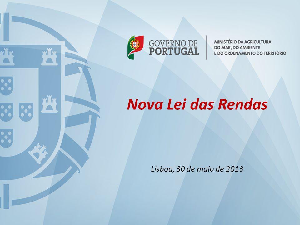 1 Nova Lei das Rendas Lisboa, 30 de maio de 2013