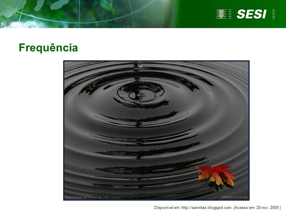 Disponível em: http://sannitas.blogspot.com. (Acesso em: 20 nov. 2009.) Frequência