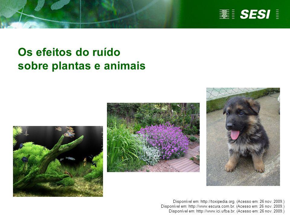 Disponível em: http://toxipedia.org. (Acesso em: 26 nov. 2009.) Disponível em: http://www.escura.com.br. (Acesso em: 26 nov. 2009.) Disponível em: htt