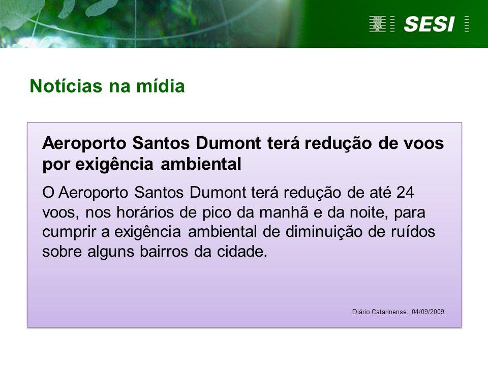 Aeroporto Santos Dumont terá redução de voos por exigência ambiental O Aeroporto Santos Dumont terá redução de até 24 voos, nos horários de pico da ma