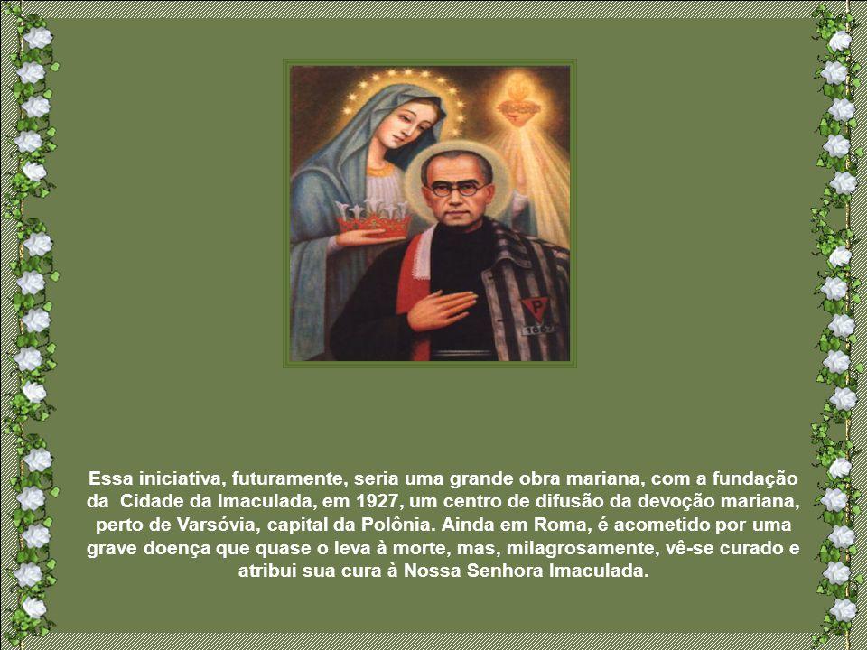 Raimundo Kolbe, mais conhecido como Maximiliano, nasceu em 1894, na Polônia, de família pobre, mas profundamente religiosa. Tornou-se franciscano conv