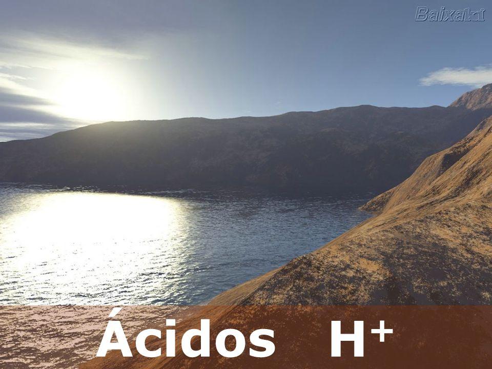 Ácidos H +