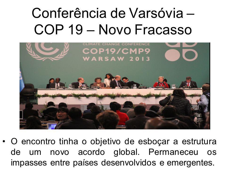 Enquanto as nações desenvolvidas não chegam a um acordo os desafios ambientais continuam, sendo que dentre as grandes questões da atualidade estão o d