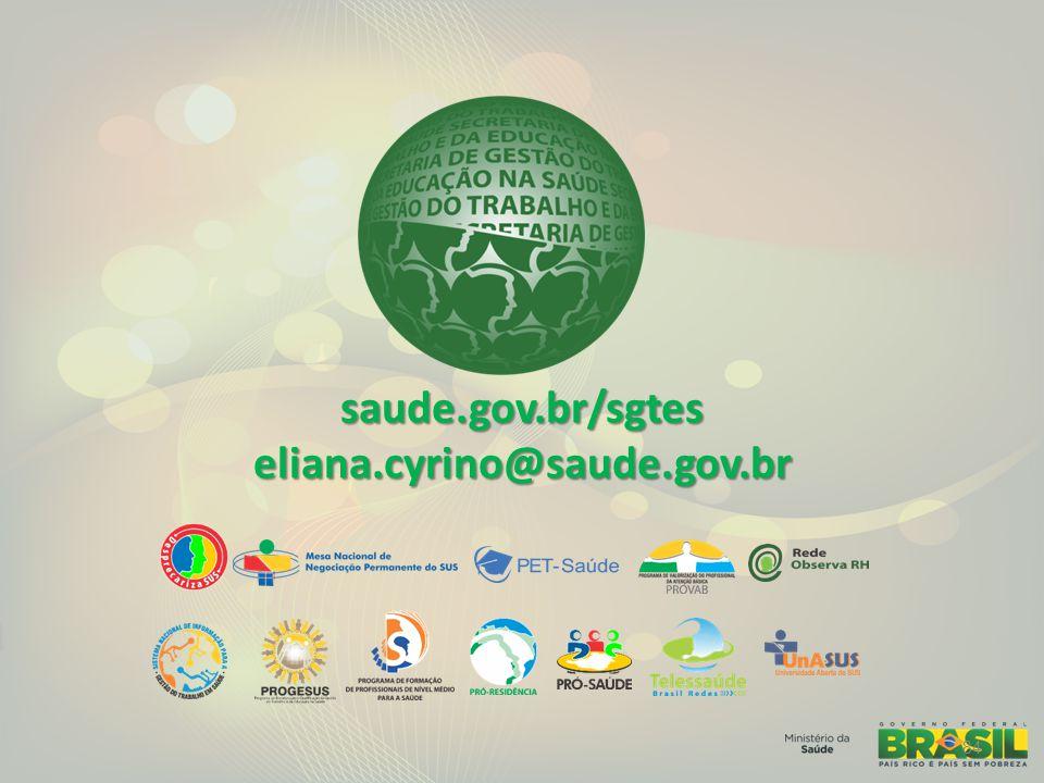 saude.gov.br/sgteseliana.cyrino@saude.gov.br 84