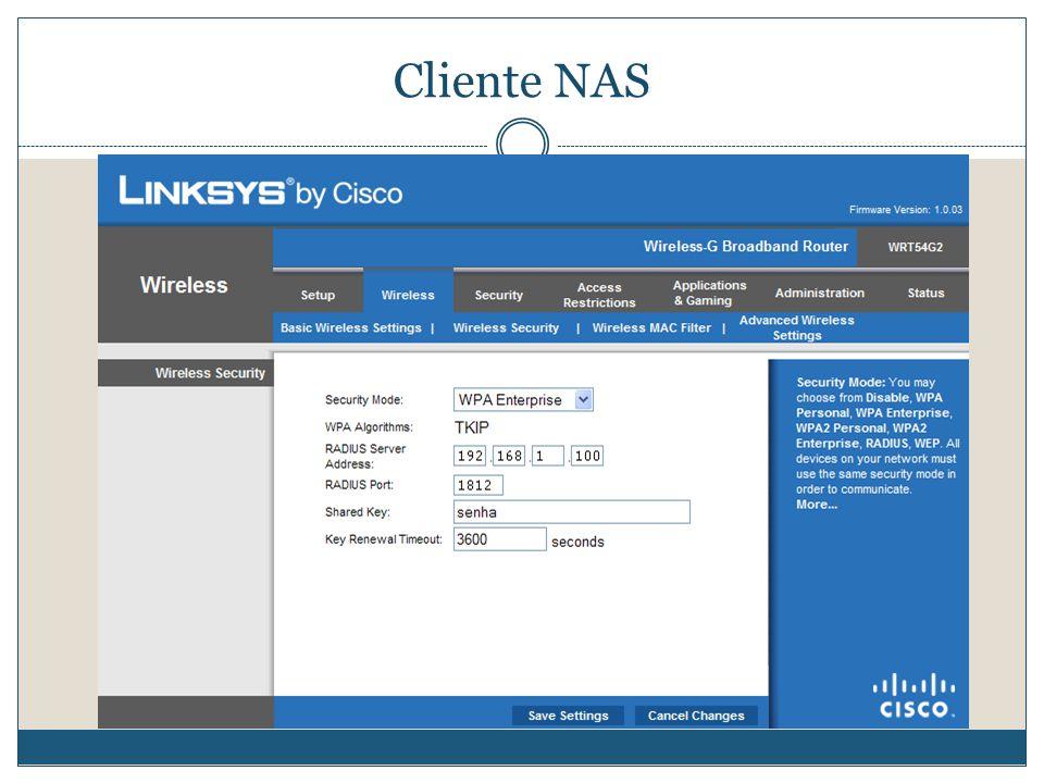 Cliente NAS