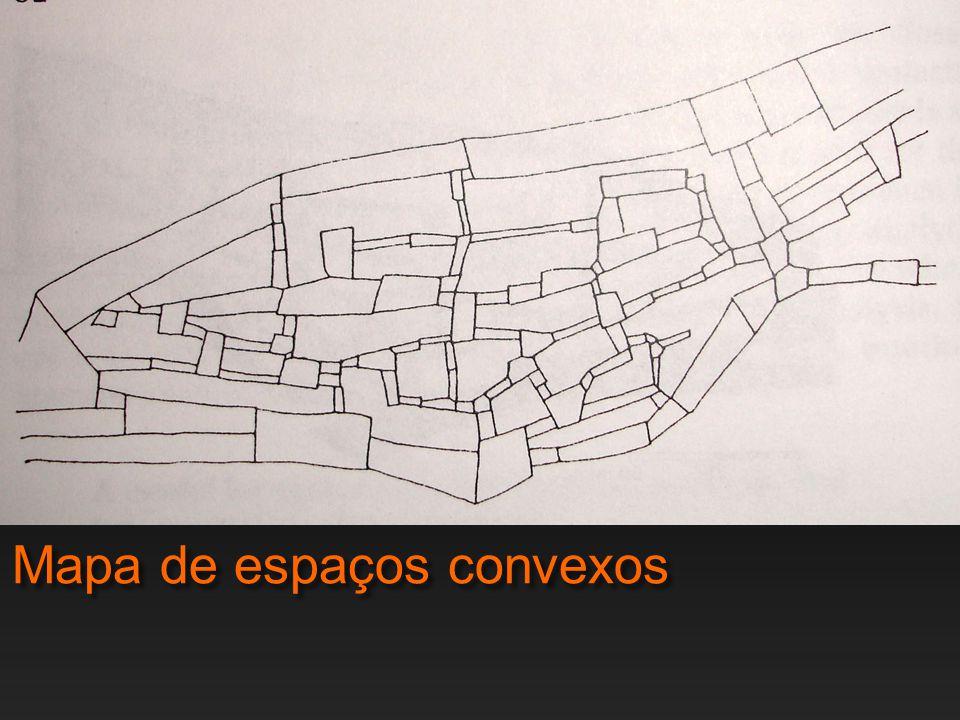 Mapa de espaços convexos