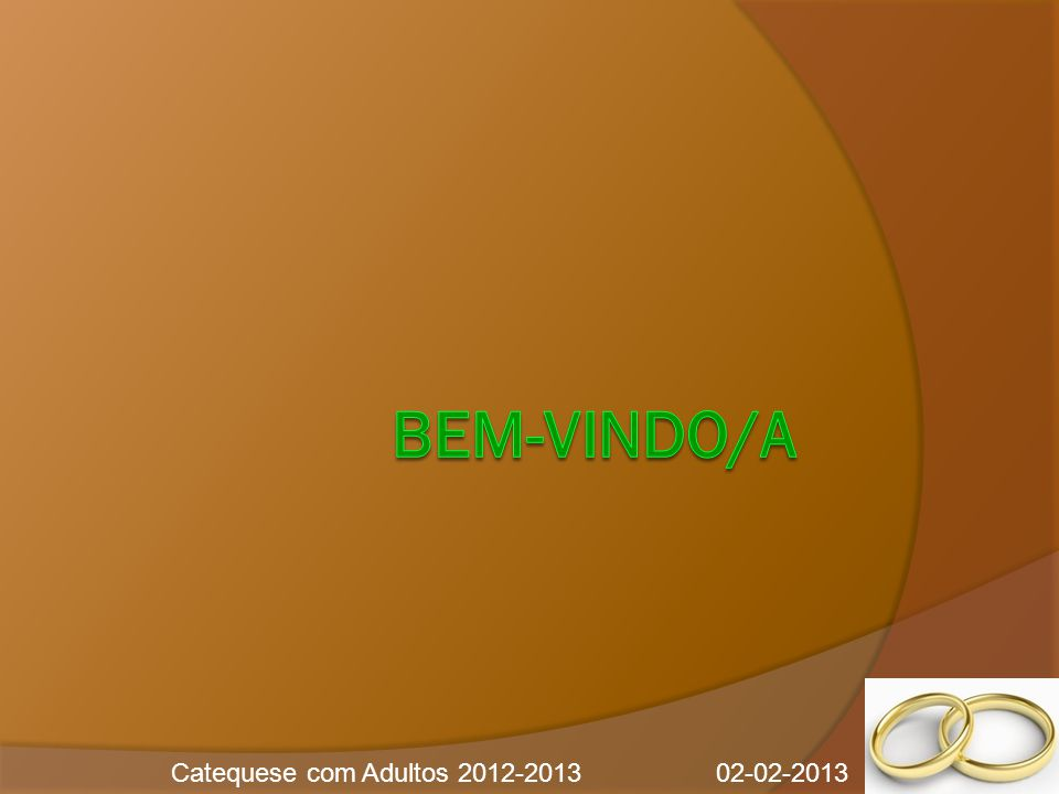 Catequese com Adultos 2012-2013 02-02-2013