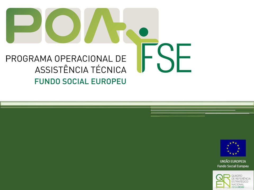 UNIÃO EUROPEIA Fundo Social Europeu