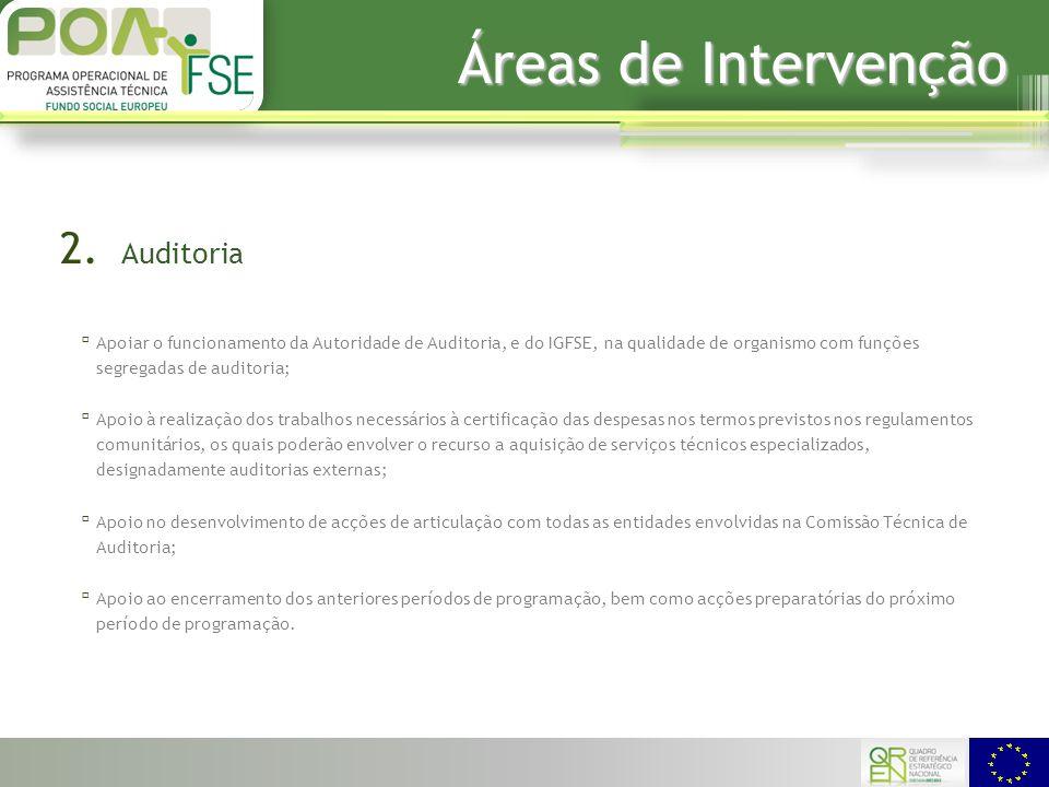 Áreas de Intervenção 2.