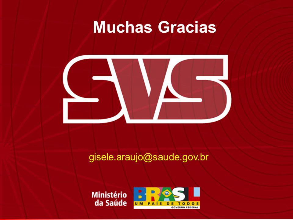 Muchas Gracias gisele.araujo@saude.gov.br