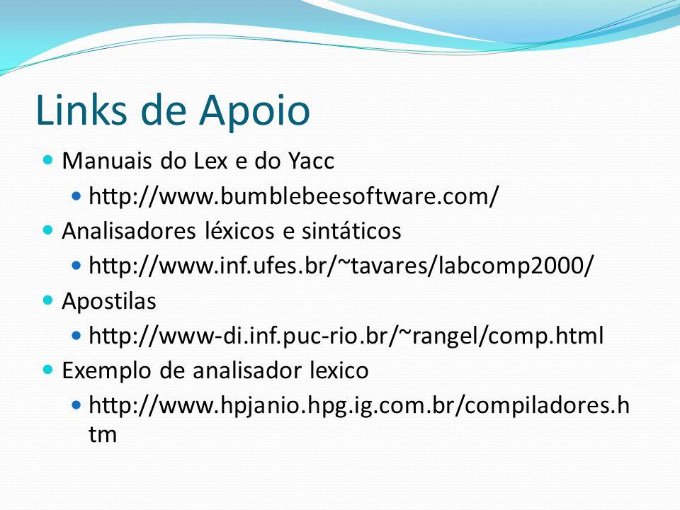 Compiladores. Especificação / Implementação de L.P.