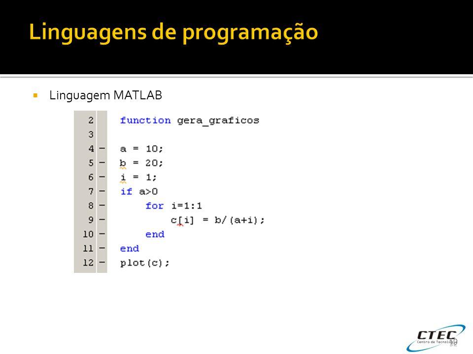  Linguagem MATLAB 19