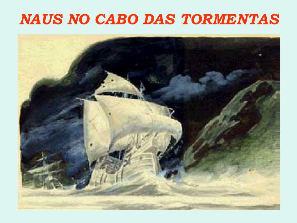 NAUS NO CABO DAS TORMENTAS
