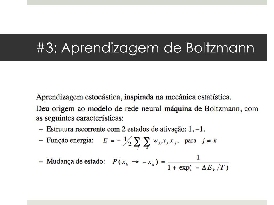 #3: Aprendizagem de Boltzmann