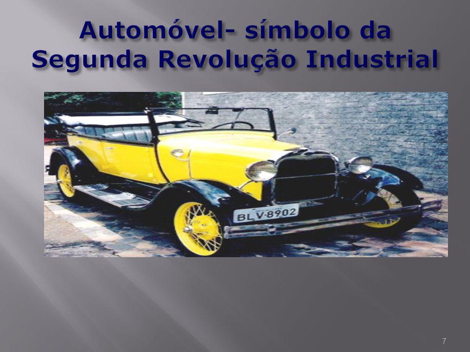 A Segunda Revolução Industrial, iniciada na segunda metade do século XIX (1850 - 1870), foi uma segunda fase da Revolução Industrial, envolvendo uma s