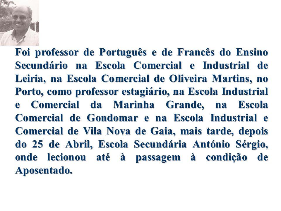 Artur Teixeira Forte nasceu em 1941, numa aldeia do concelho de Ansião, distrito de Leiria.