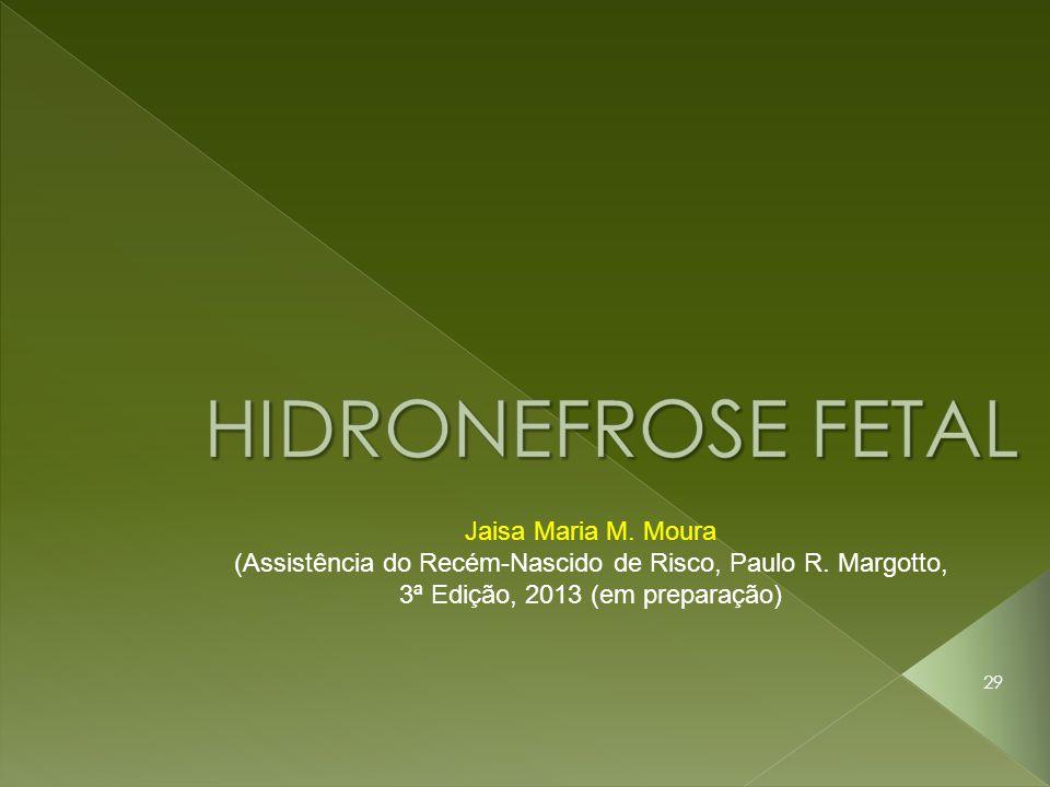 29 Jaisa Maria M. Moura (Assistência do Recém-Nascido de Risco, Paulo R. Margotto, 3ª Edição, 2013 (em preparação)