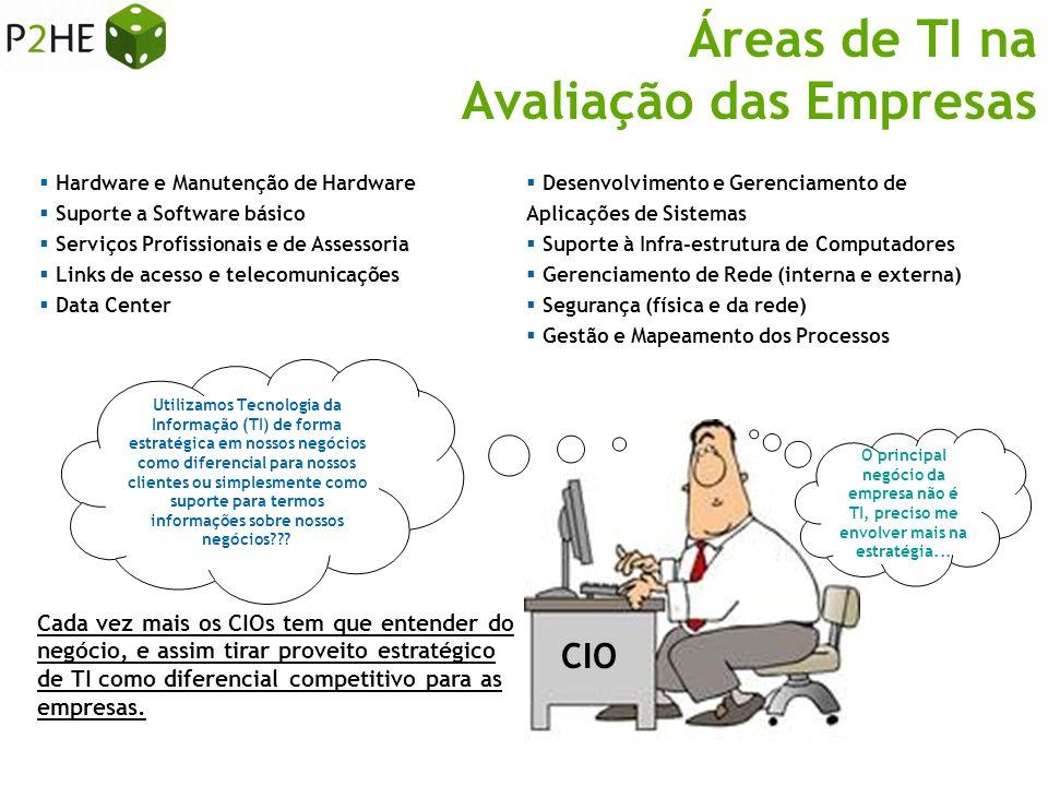  Hardware e Manutenção de Hardware  Suporte a Software básico  Serviços Profissionais e de Assessoria  Links de acesso e telecomunicações  Data C