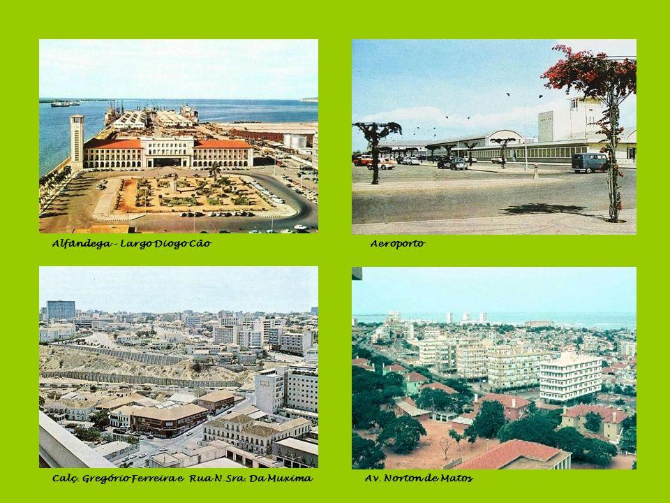 Porto Pesqueiro, Banco de Angola e BCARua Luís de Camões Av. Paulo Dias de NovaisPanorâmica da baía