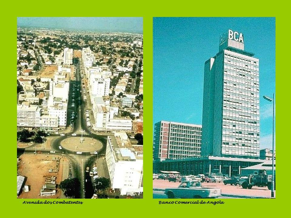 Contra-costra e floresta da ilhaBaía de Luanda Banco de AngolaCinema Miramar