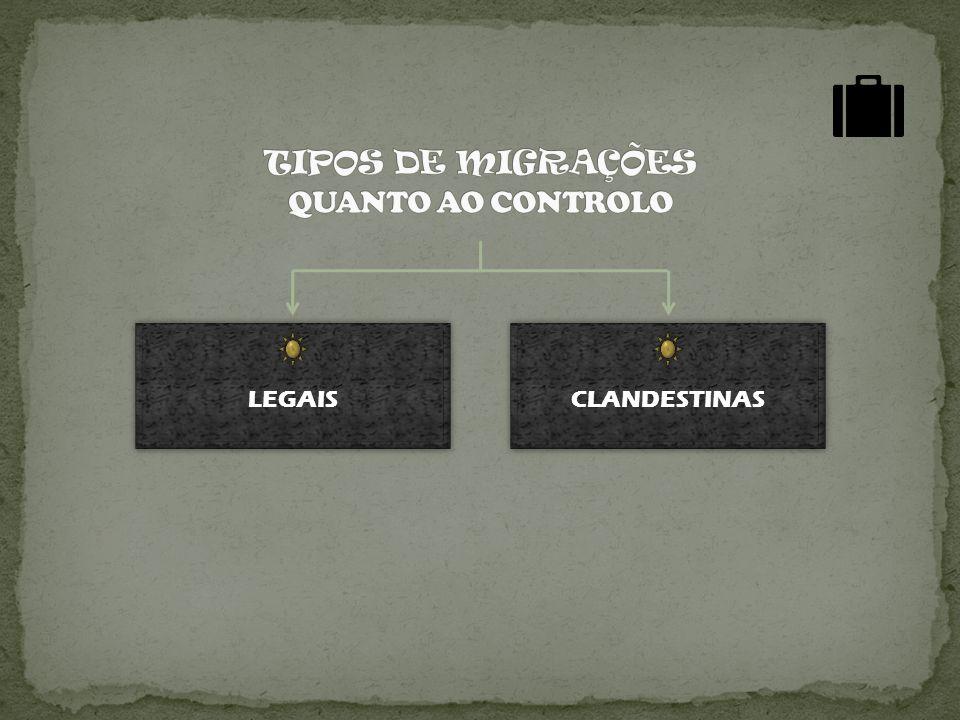 LEGAIS CLANDESTINAS