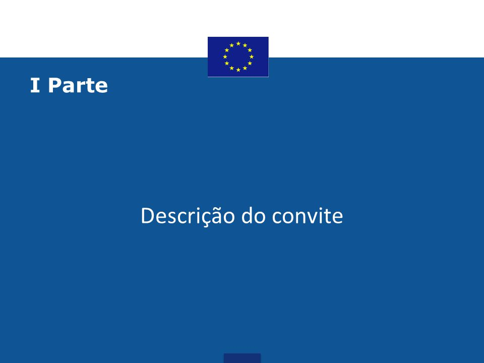Saiba mais sobre o convite: https://webgate.ec.europa.eu/europeaid/online- services/index.cfm?do=publi.welcome&nbPubliList=15&ord erby=upd&orderbyad=Desc&searchtype=RS&aofr=133043 &userlanguage=en •Contactos: •Virgínia Mulas •Encarregada de Programas, Delegação da União Europeia em Cabo Verde •E-mail: Virginia.MULAS@eeas.europa.euVirginia.MULAS@eeas.europa.eu •E-mail DUE: DELEGATION-CAPE-VERDE@eeas.europa.euDELEGATION-CAPE-VERDE@eeas.europa.eu tel.: + 238 262 13 92/93/94