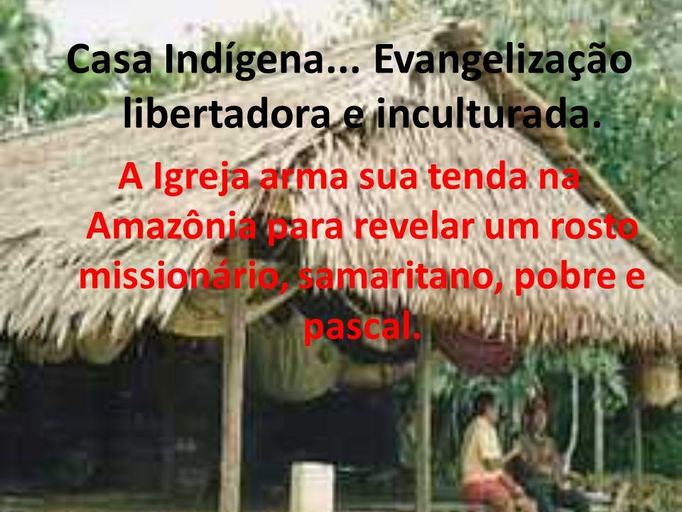 A cuia, algo em comum entre os povos indígenas e gaúchos... Norte e Sul irmanados no ministério de um Bispo.
