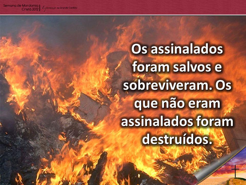 O Apocalipse mostra que, antes dos ventos (ou pragas) serem soltos, também haverá um assinalamento ou selamento do povo de Deus.