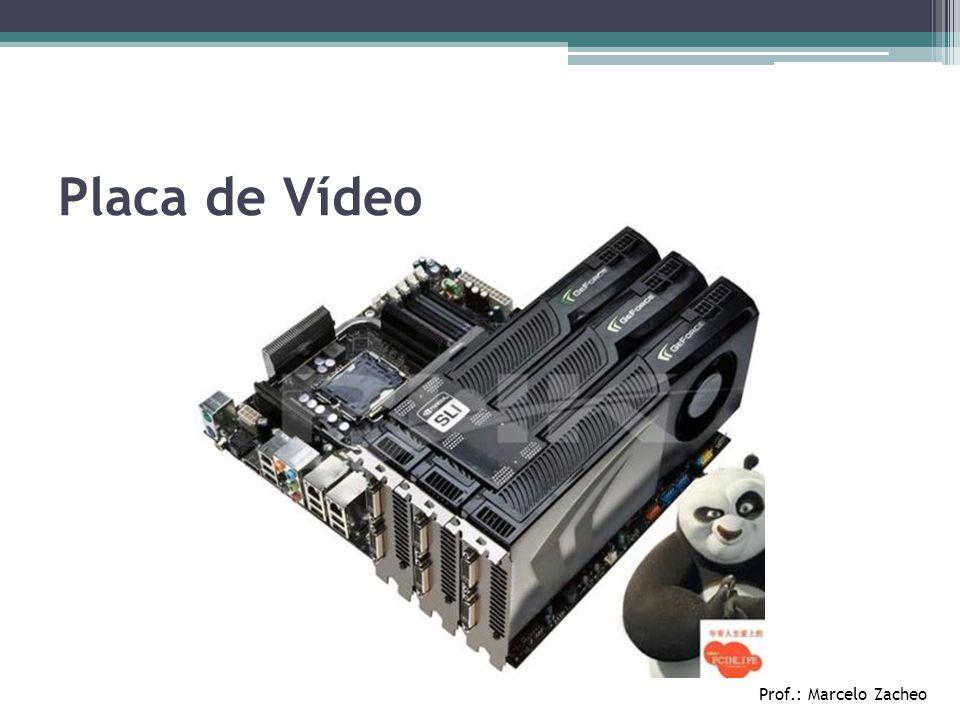 Prof.: Marcelo Zacheo Placa de Vídeo