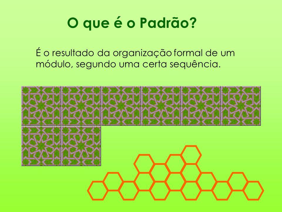 O que é o Padrão? É o resultado da organização formal de um módulo, segundo uma certa sequência.