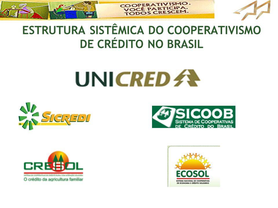 ESTRUTURA SISTÊMICA DO COOPERATIVISMO DE CRÉDITO NO BRASIL