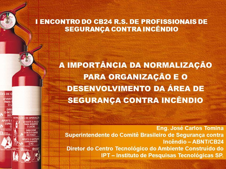 Texto base PN 24:201.03-001 – Determinação do índice de segurança a incêndio das edificações – Procedimento PN 24:202.03-002 - Detectores automáticos de temperatura para proteção contra incêndio - Especificação PN 24:204.01-001 - Blocos autônomos para iluminação de emergência PN 24:204.03-002 - Controle de fumaça em edificações PN 24:301.12-001 - Líquido gerador de espuma - Requisitos e métodos de ensaios PN 24:301.13-001 - Proteção contra incêndio em túneis PN 24:302.03-004 - Extintores de incêndio portáteis - 2º projeto de norma PN 24:302.03-005 - Extintores de incêndio sobre rodas - 2º projeto de norma PN 24:302.04-002 - Inspeção, manutenção e teste de sistema de hidrantes e mangotinhos para combate a incêndio PN 24:302.06-001 - Sistemas fixos de combate a incêndios por agentes gasosos PN 24:302.07-003 - Veículo de combate a incêndio florestal