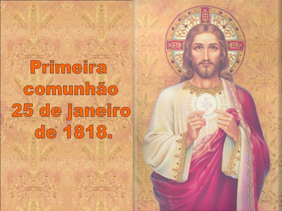 Reconhecida Santa por Pio XII no dia 27 de julho de 1947