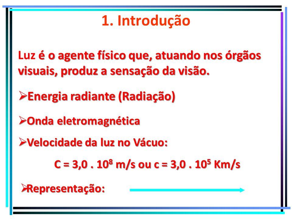   IIntrodução à Óptica Geométrica Física PROF. RODRIGO LINS