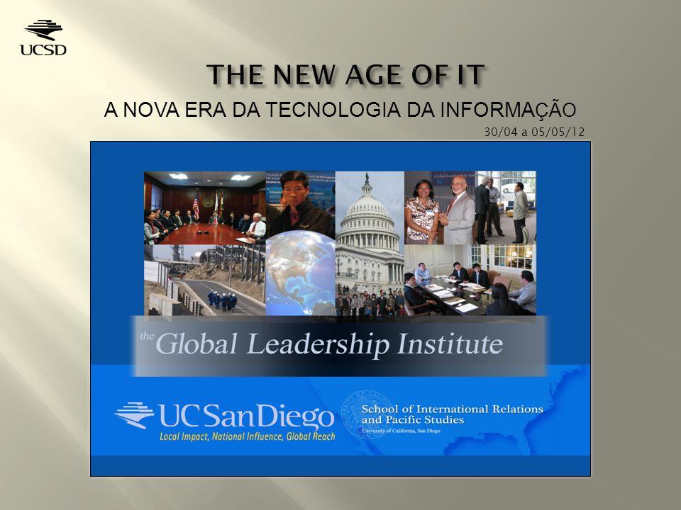 A NOVA ERA DA TECNOLOGIA DA INFORMA ÇÃO 30/04 a 05/05/12
