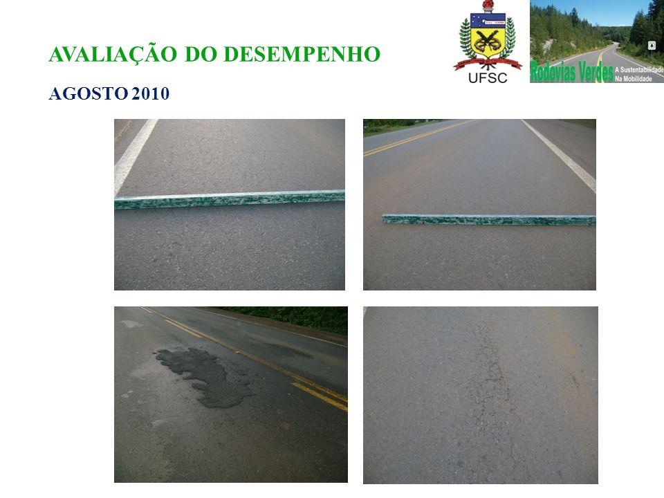 AVALIAÇÃO DO DESEMPENHO AGOSTO 2010