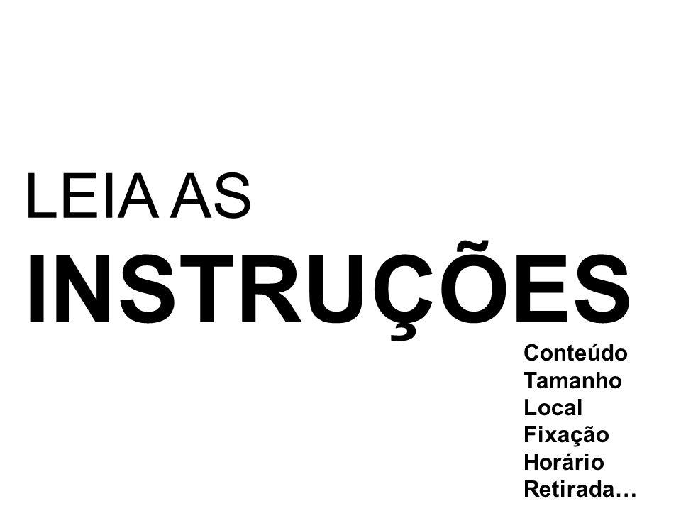 ESTRUTURA DO PÔSTER TÍTULO AUTORES INTRODUÇÃO REFERENCIAL OBJETIVOS METODOLOGIA DESENVOLVIMENTO RESULTADOS OBTIDOS CONSIDERAÇÕES FINAIS/ CONCLUSÃO REFERÊNCIAS Referencia os autores citados no texto