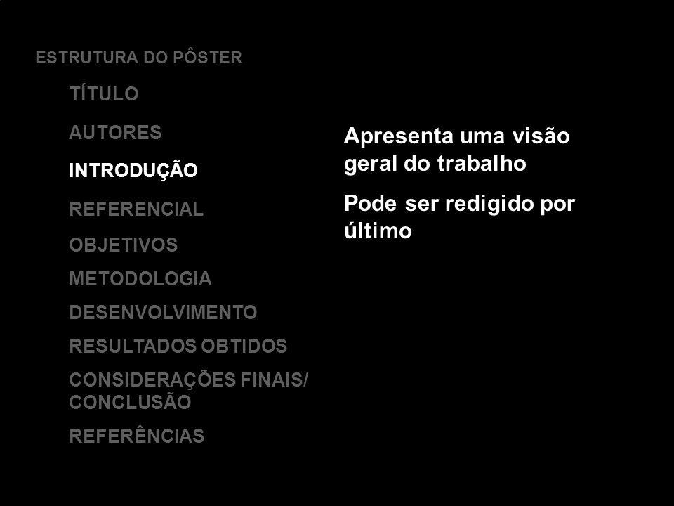 USE O SÍMBOLO DE NOSSA INSTITUIÇÃO