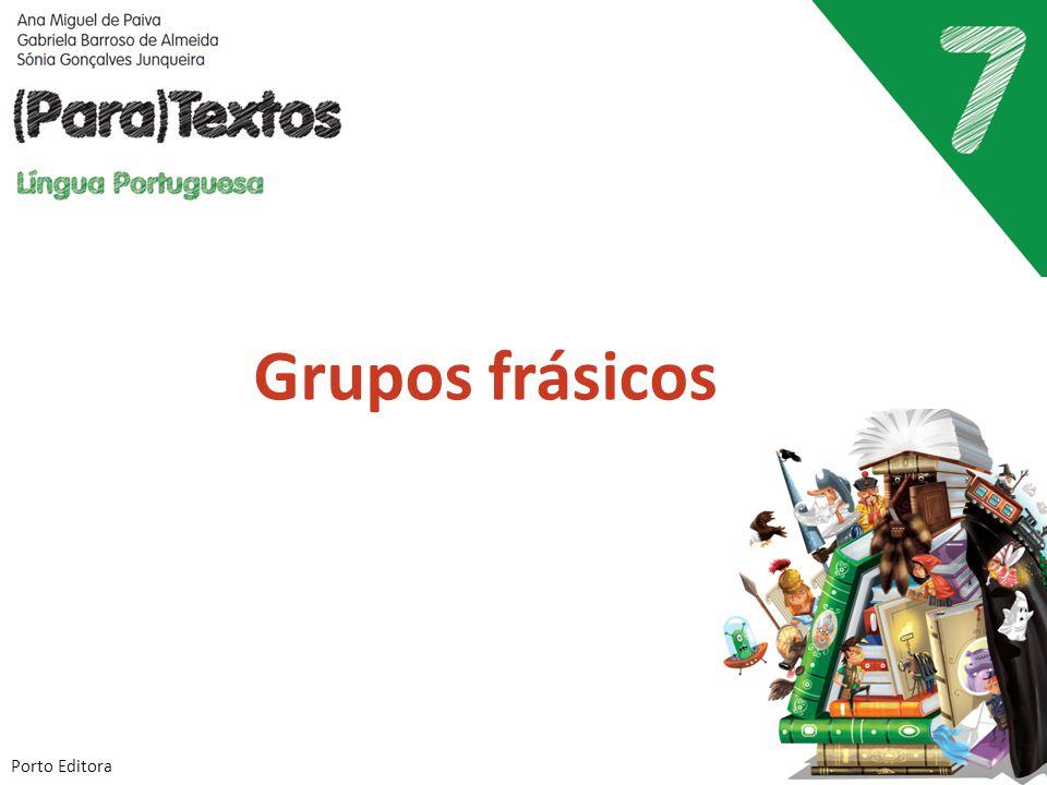 Grupos frásicos Porto Editora