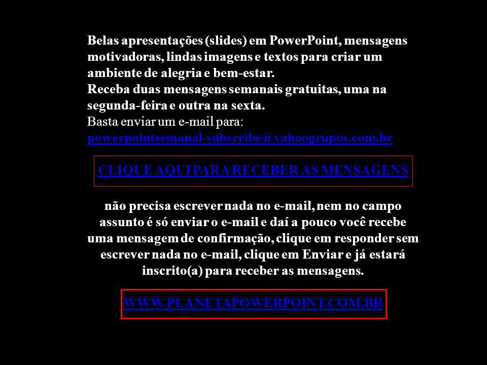 Texto recebido por e-mail: (Procuro o autor)Imagens: GoogleMúsica: Le Lac de Come Richard Abel Formatação: Eliana Crivellari 10/3/2012