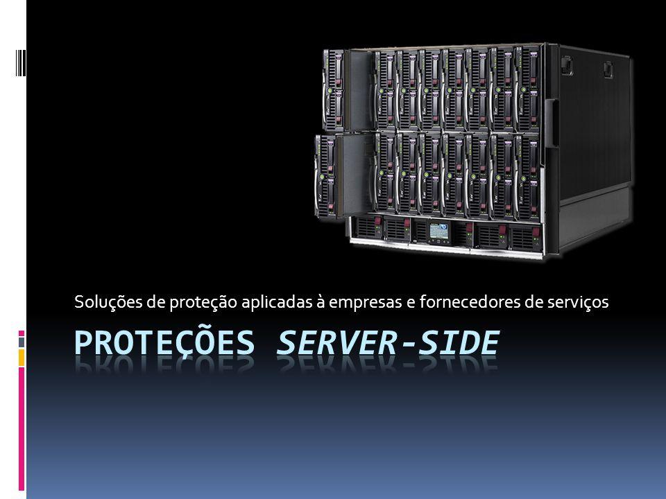 Soluções de proteção aplicadas à empresas e fornecedores de serviços