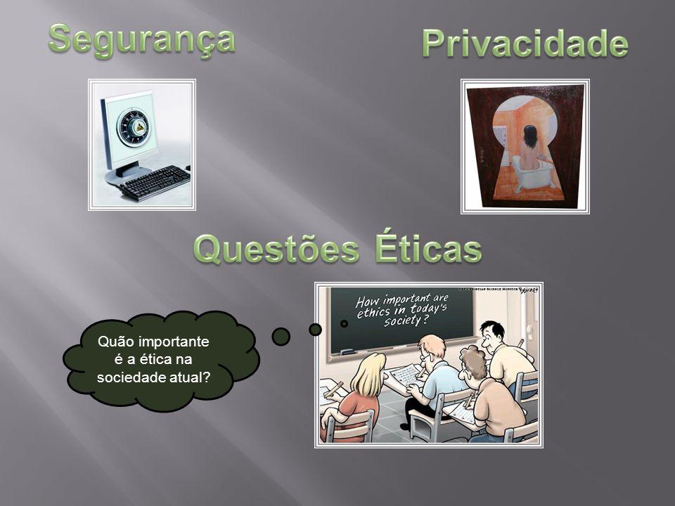 Quão importante é a ética na sociedade atual?