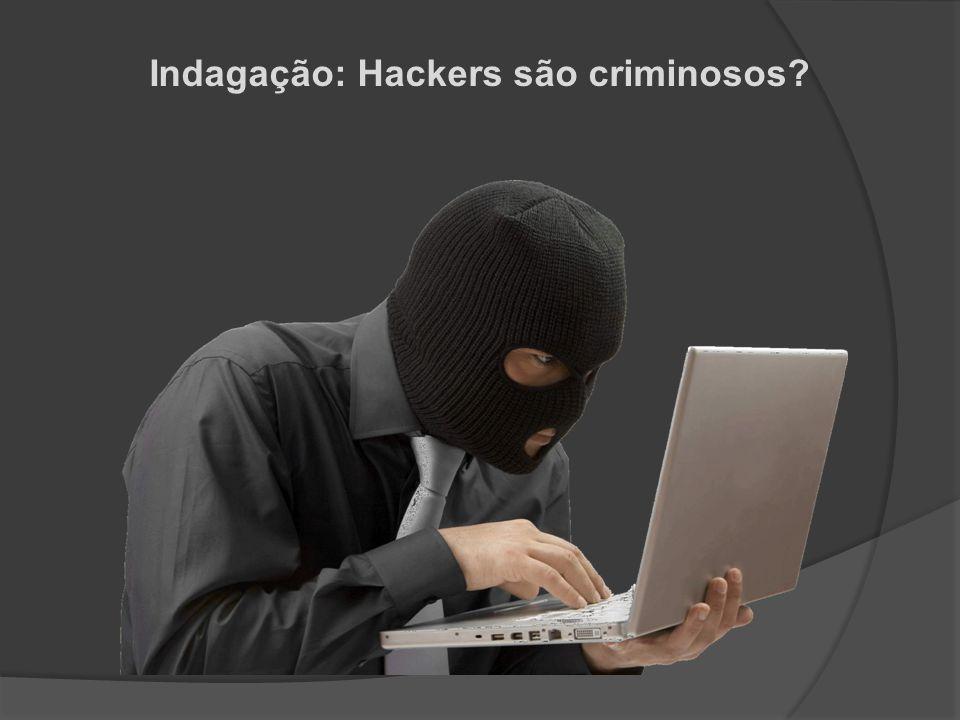 Indagação: Hackers são criminosos?