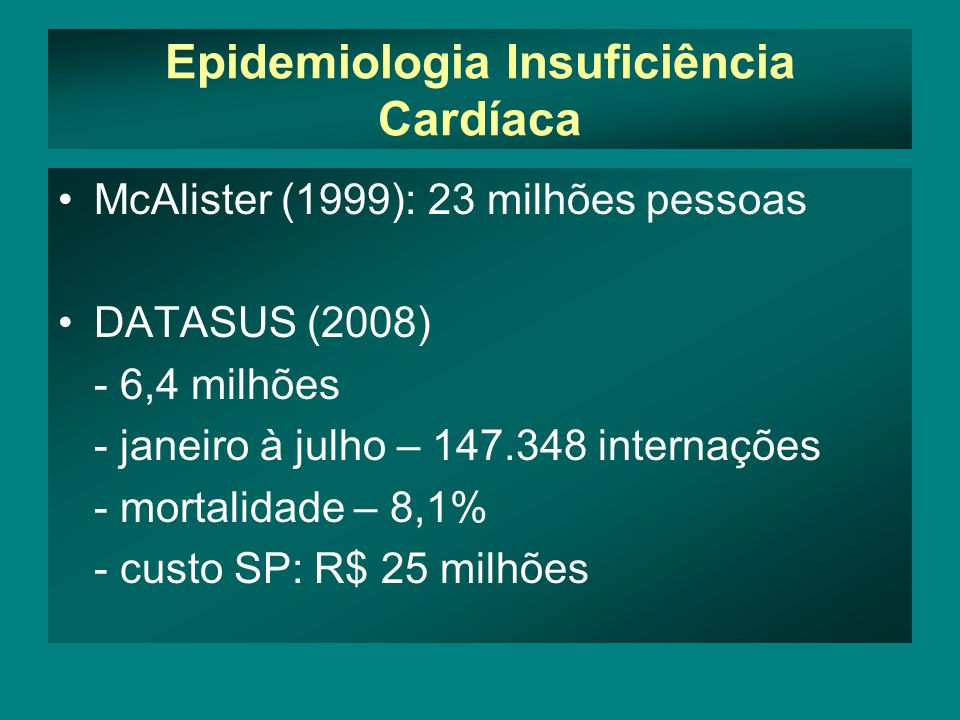 Objetivo Analisar a utilização do ecocardiograma na avaliação da TRC em pacientes portadores de insuficiência cardíaca refratária, no seguimento a curto prazo (10 dias) e após dois anos de evolução.
