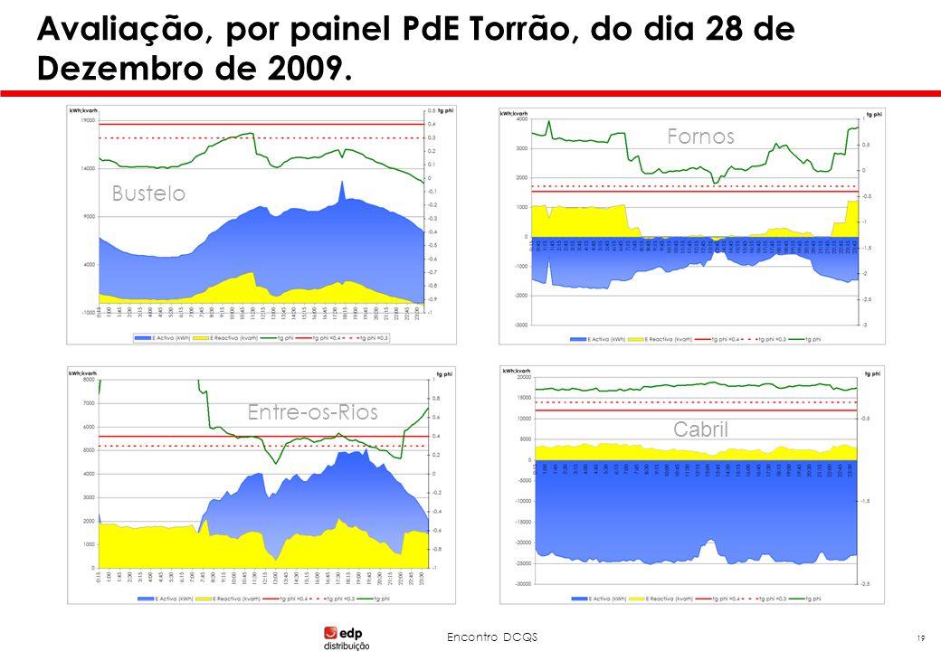 Encontro DCQS 19 Avaliação, por painel PdE Torrão, do dia 28 de Dezembro de 2009. Bustelo Fornos Entre-os-Rios Cabril