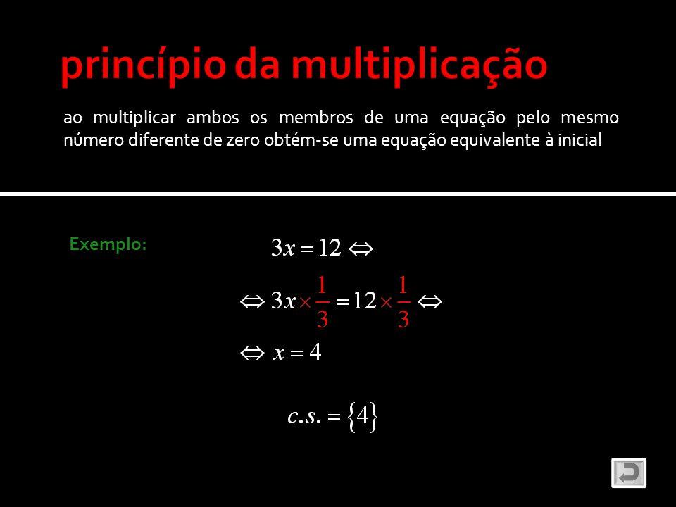o grau de uma equação é igual ao maior grau dos seus termos Exemplo: equação do 1º grau equação do 2º grau equação do 3º grau