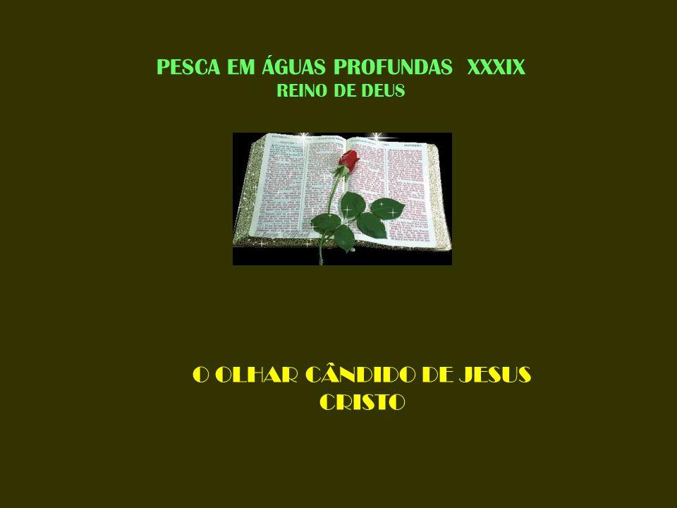 PESCA EM ÁGUAS PROFUNDAS XXXIX REINO DE DEUS O OLHAR CÂNDIDO DE JESUS CRISTO