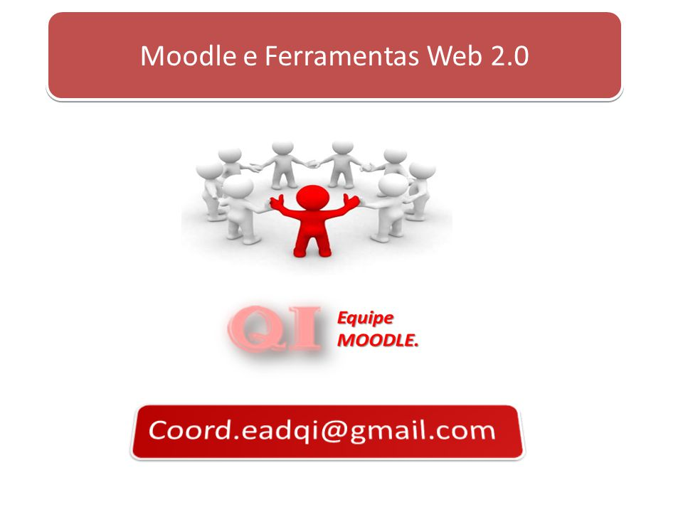 Moodle e Ferramentas Web 2.0
